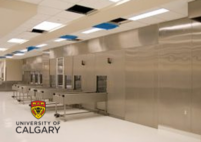 THE MCCAIG TOWER, FOOTHILLS HOSPITAL – UNIVERSITY OF CALGARY